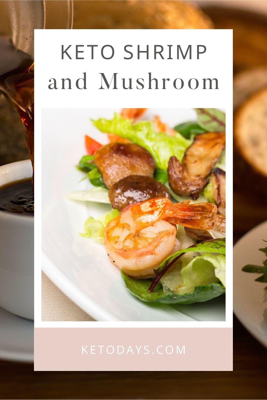 Enjoy this Shrimp and Mushroom with Zoodles Keto Recipe.