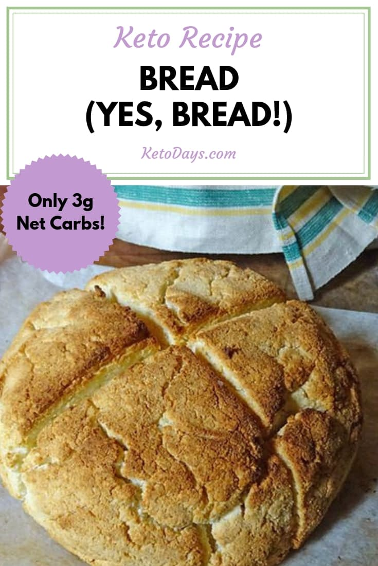 Who says you can't have bread on Keto?! You totally CAN, but you have to put a little elbow grease into it. Trust me, it's totally worth it! Here's a Keto bread recipe that's bound to make your taste buds sing!