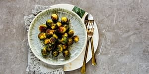 The Air Fryer is EVERYTHING for the keto kitchen! First came the instant pot, and then the air fryer. Brussels sprouts are a popular Keto Food and when you combine them with the air fryer you have delicious and healthy Keto Air Fryer Brussel Sprouts.
