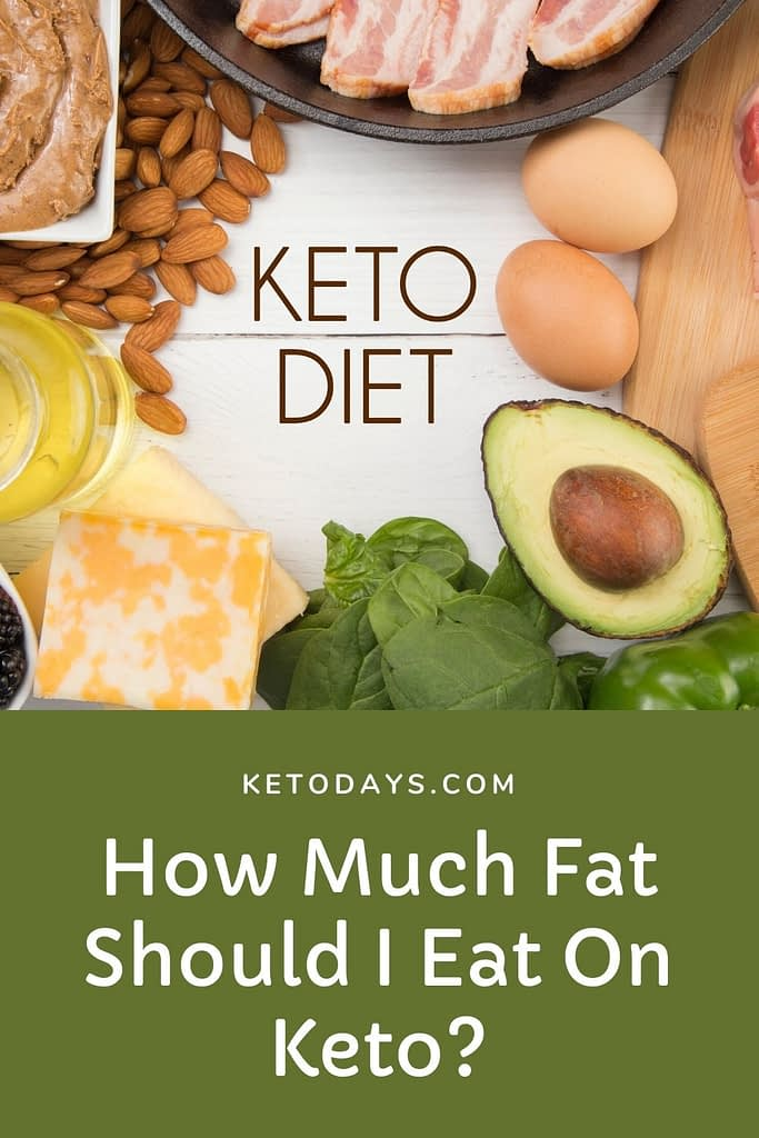 The macro split of 70/25/5 fat, protein, and carbs is the target for a ketogenic diet. With that said, however, if you're trying to lose weight, you don't need to eat fat even if you're not hungry.