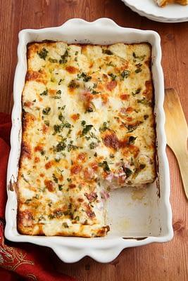 Dish of Keto Lasagna
