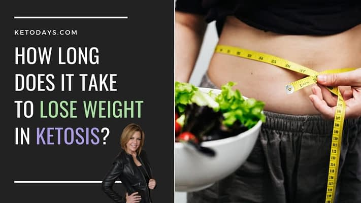 Lose Weight Ketosis | Measuring the belly with a bowl of salad on hand