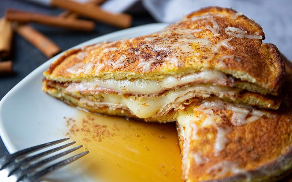 Keto Monte Cristo Breakfast Sandwich