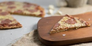 Keto Pizza is a favorite in the Ketogenic community. You can make your crust out of cheese or cauliflower. Be careful about buying your Keto Pizza. Many of the store bought crusts are very heavy in carbs. Enjoy This Keto Pizza Recipe!