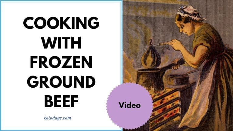 You don't have to thaw out that ground beef before cooking it. In fact, our friends over at Butcher Box have made us a quick video that shows how frying frozen hamburger with avocado oil and a cast iron pan can be better.