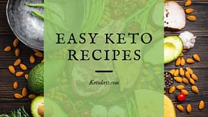 Cooking Keto comes with a learning curve. You'll need to learn about cooking with Almond Flour, Coconut Flour, Swerve instead of Sugar, Heavy Cream instead of Milk and so on. Here's a list of easy Keto Recipes for the Keto Beginner.