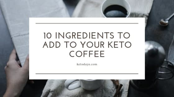 In this video, Keto Guru Thomas DeLauer shares 10 ingredients to add to your Keto Coffee. From MCT oil to Turmeric, you've got ingredients that can pack a powerful, positive punch to your coffee.