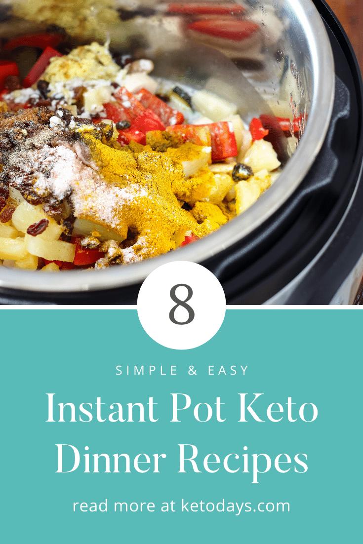8 Instant Pot Keto Recipes Dinner