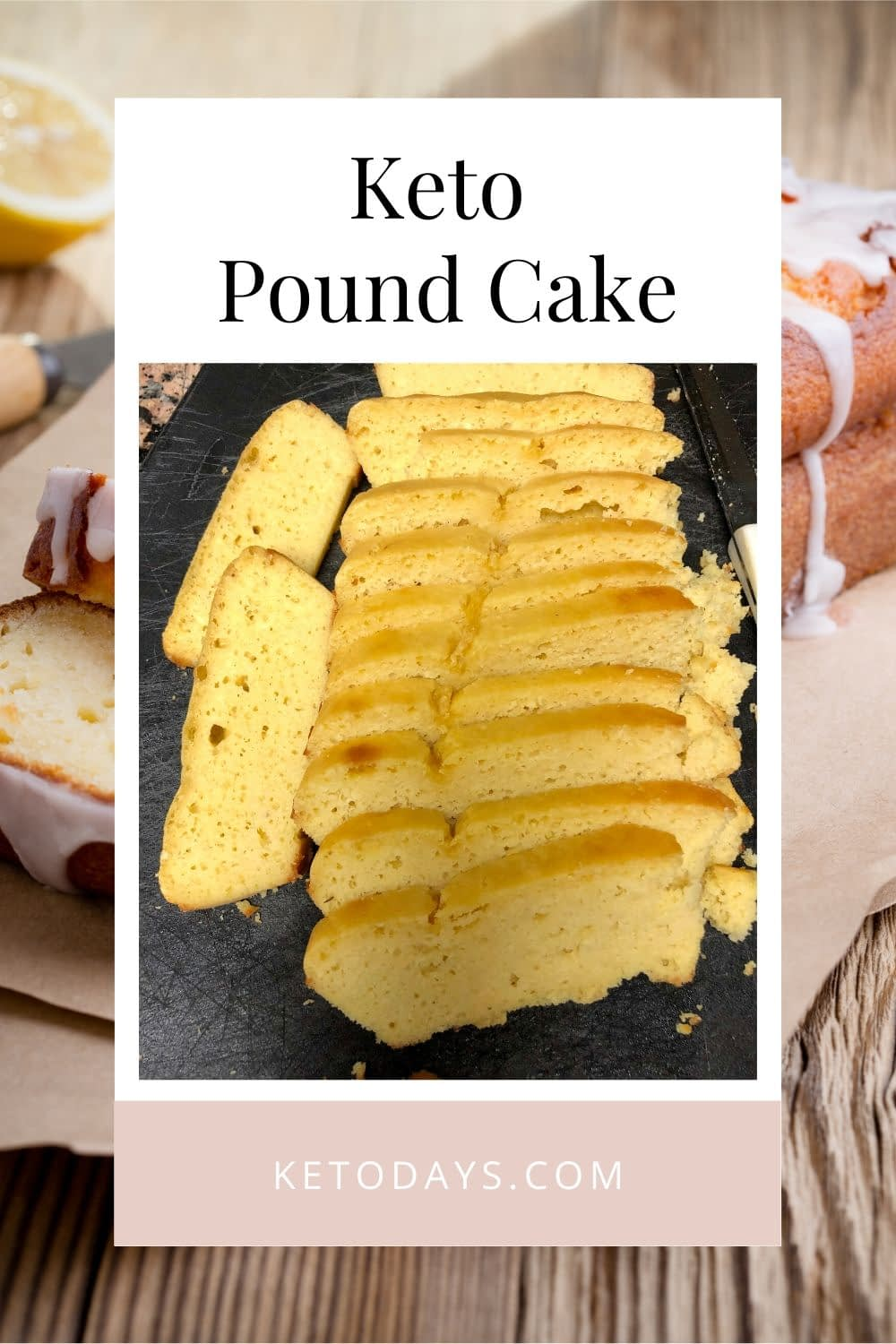 In my low carb recipes, I add things like protein powder, collagen (cause I'm over 40),  and mct oil. This Keto Pound Cake has all of those + Protein powder. You can skip them as they are not necessary to make the cake.