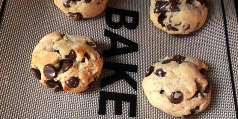 Here's a recipe for Keto Chocolate Chip Cookies that hit the spot! Rated 8 out of 10 compared to Mom's cookies! After sugar alcohols are deducted, these count for a net 3 carbs each with around 200 calories and 19 grams of Fat.