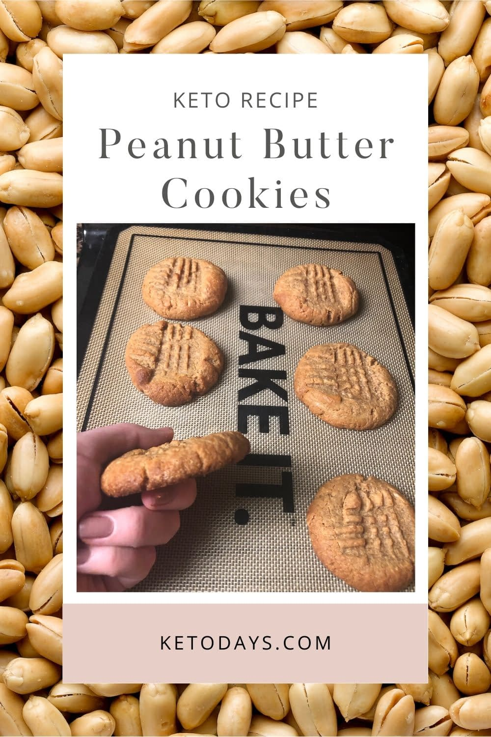 The best way to ensure success is to be prepared. Rather than getting a snack craving and running for the oreo's, use this Keto Peanut Butter Cookie Recipe instead.