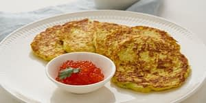 This low carb keto pancake recipe is ideal for those that still eat breakfast or love breakfast for lunch or dinner - like me! Add in some monkfruit syrup and grass fed butter! Yum!