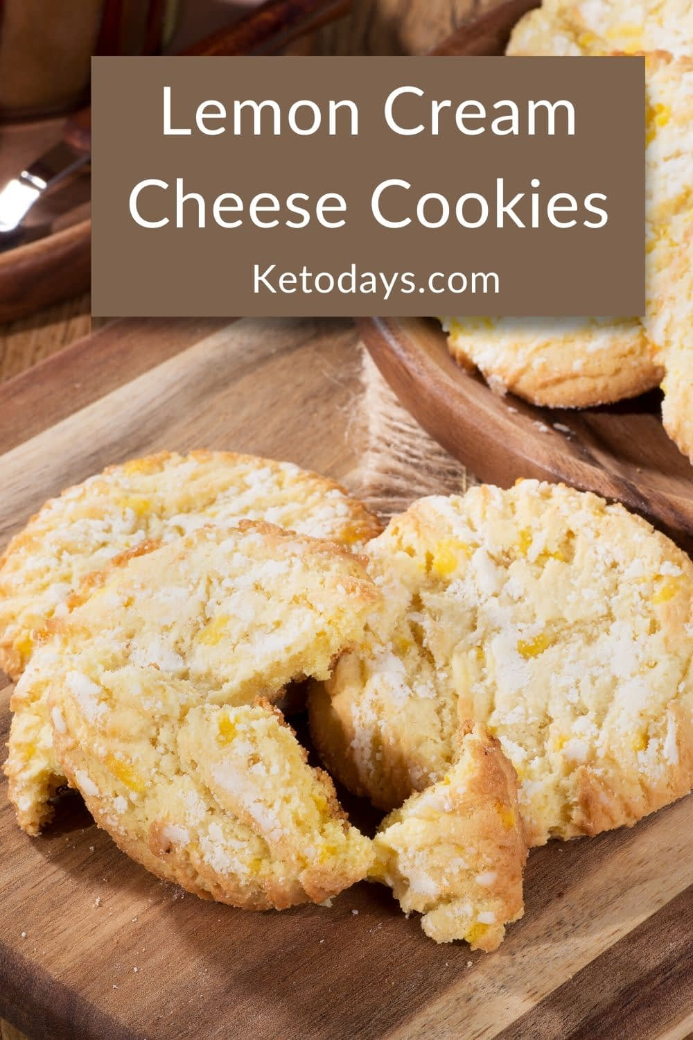 I love this Keto Lemon Cream Cheese Cookie Recipe.