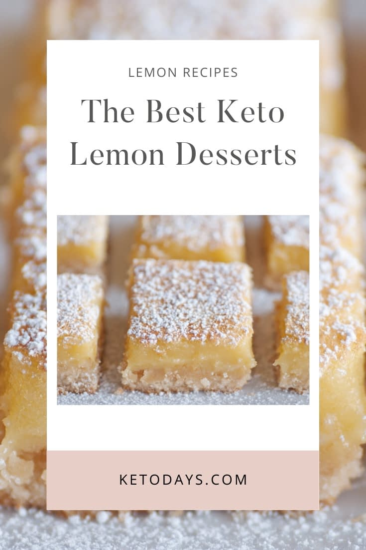 There is just something about the taste of lemon in desserts that seems to make it sweeter for me. This list of guilt-free best Keto Lemon Desserts should keep that sweet tooth satisfied.
