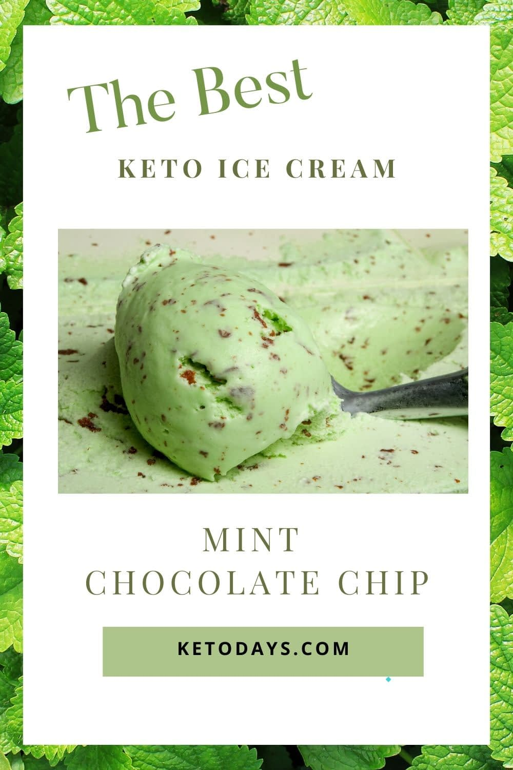 Mint chocolate chip is a crowd favorite when it comes to ice cream. Just because you're doing a Keto or low-carb diet doesn't mean you have to give that up! Here's a Keto ice cream recipe for mint chocolate chip ice cream to satisfy your palette.