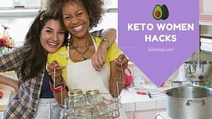 """I love Leanne Vogel, creator of Keto for Women. I have her Keto Diet Guide and Keto Diet cookbook and love her work at Healthful Pursuit. In this podcast, Leanne talks about """"lady hacks"""" for keto women."""