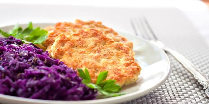 Enjoy this Keto Chicken Fritters Recipe. If you have an air fryer or prefer baking over frying, you can do that as well.